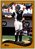 2002 Topps #493 Mark Johnson CHICAGO WHITE SOX