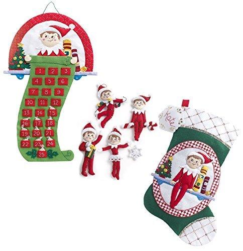 The Elf on the Shelf: A Christmas Tradition Advent Calendar Kit