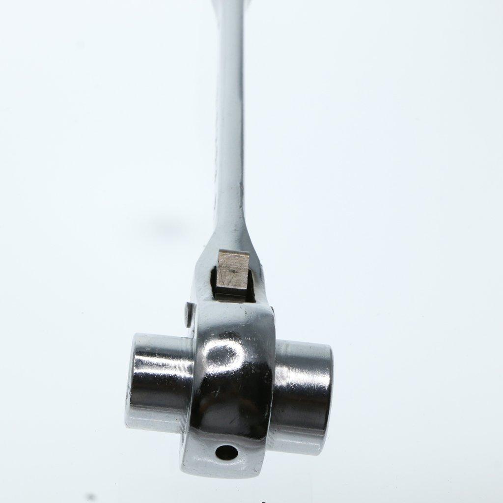 Scaffold Podger Llave De Trinquete Llave De Trinquete Llave Inglesa Llave Inglesa Podger De Tama/ño Doble Con Mecanismo De Trinquete Plata 19-24mm
