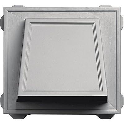 "Builders Edge 140056774030 6"" Hooded Vent 030, Paintable"
