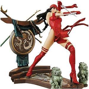 51joGt2eIPL. SS300 DIAMOND SELECT TOYS Elektra Statue Marvel Milestones