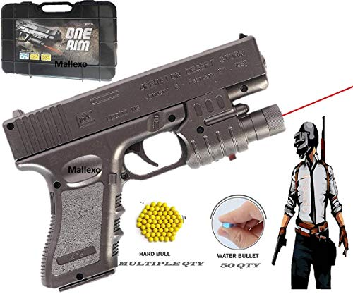 200+Bullets Premium pubg Guns for Boys with Bullets and Laser Light | Multi-Colored Gun Toys for Kids Pistol | Pack of 1 Laser Light Gun with Bullets (B08DVGMHR6) Amazon Price History, Amazon Price Tracker