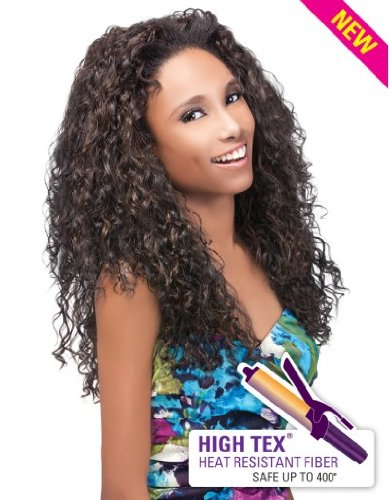 Outre Quick Weave Half Wig - Penny (1B - Off Black)