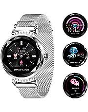 Relógio Smartwatch Feminino Touch Screen Fashionable - Prata
