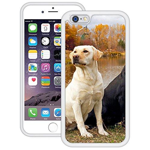 Labradors | Handgefertigt | iPhone 6 6s (4,7') | Weiß TPU Hülle