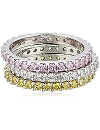 "Myia Passiello""Stackable"" Swarovski Zirconia Stackable Ring"