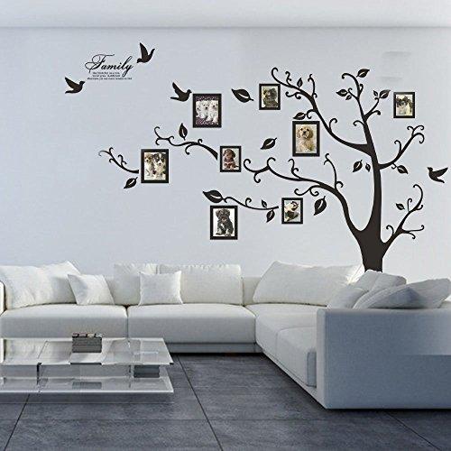 5Shome 80 x 100 Huge XXL Photo Frame Family Tree Removable Wall