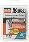 Simpson Strong Tie N8DHDG-R R 8D by 1-1/2 Hot-Dip Galvanized Nails (1-Lb)
