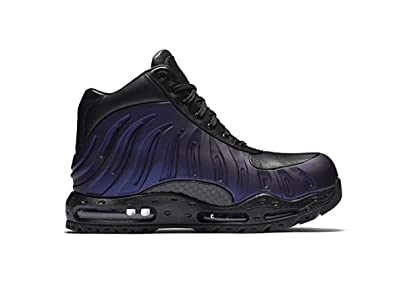 fc20e88a31c Image Unavailable. Image not available for. Color  Nike Mens Air Max  Foamdome Boots Varsity Purple Black 843749-500 Size 6.5