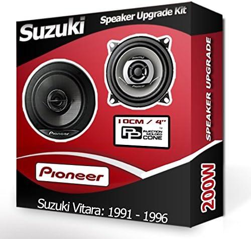 SUZUKI VITARA avant Dash Haut-parleurs Pioneer 10,2/cm 10/cm Haut-Parleur de Voiture Kit de 190/W