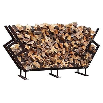 FireKing Modern Firewood Rack with Cover