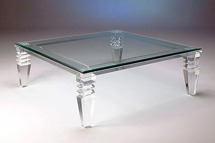 Admirable Amazon Com Luxe Furniture 48 Portofino Coffee Table Creativecarmelina Interior Chair Design Creativecarmelinacom