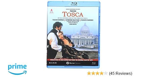Amazon.com  Tosca  Live in Rome  Blu-ray  starring Placido Domingo  Placido  Domingo f139c215a8