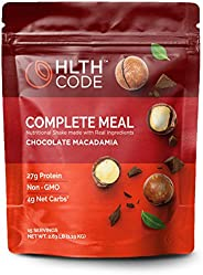 HLTH Code Complete Meal Replacement Shake - Healthiest Meal Replacement = Healthiest You | Keto Friendly | Hig