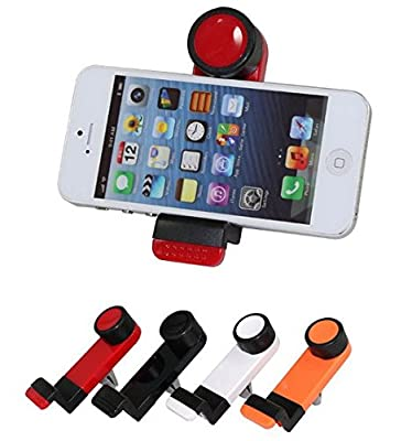 Generic Phone Holder Vent Mount Cradle for Cars Works Great for All Iphones 6/5s/5/4s/4, Universal for Smartphones Samsung Galaxy S6/ S5/s4/s3, Samsung Galaxy Note 4/3/2, HTC One, Nexus 4, Lg Nexus 4, Nokia Lumia 920