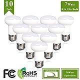(Pack of 10)7Watt Led Spot Lamp 65WattR16IncandescentSpotLightMedium base Dimmable 65w Halogen Bulb Equivalent,3000K Warm White Incandescent Spot Light Bulb 700lumen 120Degree 120Voltage Review