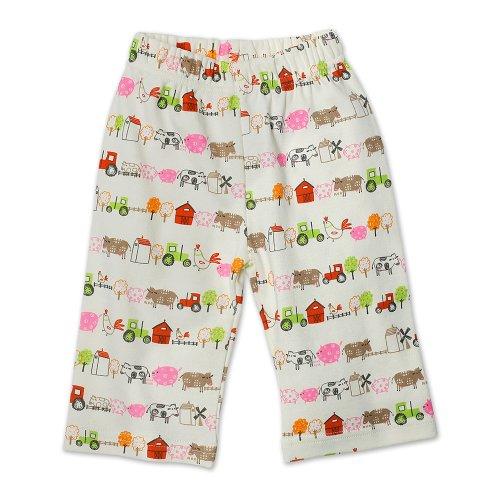 Zutano Baby Girls' Little Farm Organic Pant