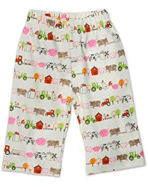 Baby Girls' Little Farm Organic Pant