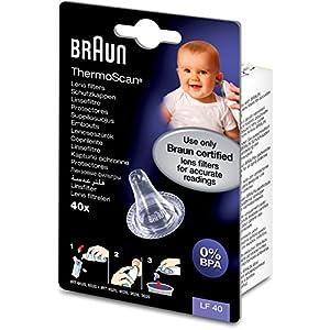 Protectores de lente del ThermoScan de Braun para termómetros de oído - Paquete de 40 26