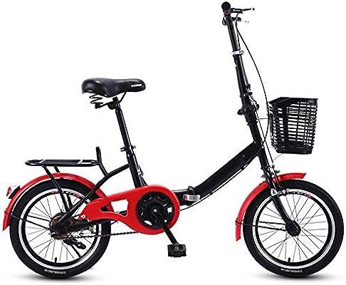 YUMEIGE Bicicletas Bicicletas Plegables 16 18 20 Pulgadas ...
