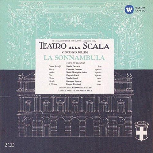 Maria Callas Remastered Bellini La Sonnambula 1957 By Warner Classics