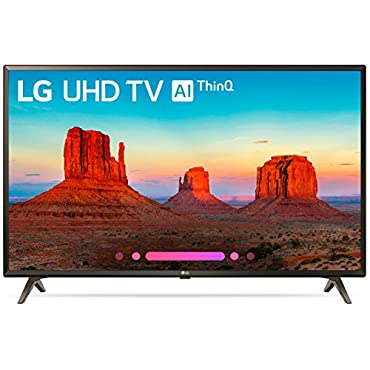 LG Electronics 43UK6300PUE 43 4K Ultra HD Smart LED TV (2018 Model)