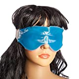 HealthAndYoga(TM) Relaxing Gel Eye Mask with Strap-on Velcro | Cooling Relaxation for Tired
