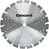 Concord Blades LHB120C15HP 12 Inch Super Turbo Segmented Diamond Blade with 15 mm Jumbo Rim & Cooling Holes