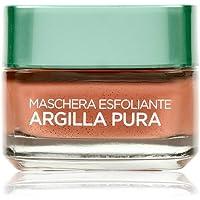 L'Oréal Paris Maschera per il Viso Argilla Pura con Alghe Rosse, Leviga e Ristringe i Pori del Viso, 50 ml, Confezione Singola