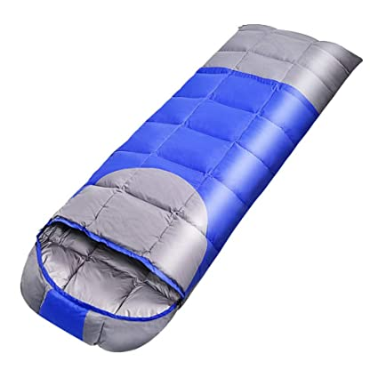Zhixing Saco de Dormir de Camping,Portátil, Impermeable, Compacto y Ligero,Bolsa