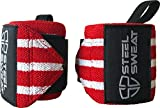 Steel Sweat Wrist Wraps - Best for Weight Lifting