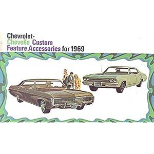 1969 Chevrolet Chevelle Accessories Sales Brochure
