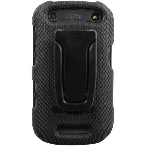 Body Glove Flex Snap-On Case with Kickstand for BlackBerry Curve 9350/9370 Case Black (Blackberry Curve Body Glove)