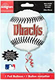 "Anagram International Arizona Diamondbacks Package Party Balloons, 18"", Multicolor"