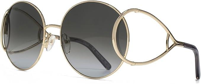Chloé Jackson tour sunglasses temple raquette gris CE124S