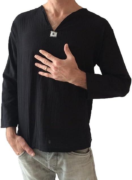 Love Quality - Camiseta de Yoga para Hombre, 100% algodón, Color ...