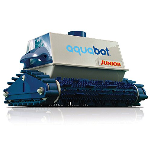 (AQUA PRODUCTS INC. Aquabot Junior Robotic In Ground Pool Cleaner w/Extra Replacement Filter Bag)