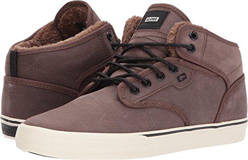 Mens Motley Mid Skate Shoe Black Gum