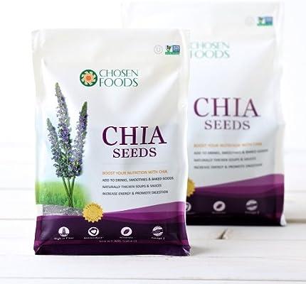 Chosen Foods - Semillas de chía - 1 libra.: Amazon.es: Salud y ...