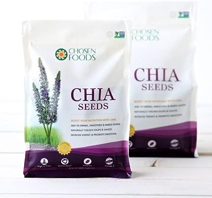 Chosen Foods - Semillas de chía - 1 libra.: Amazon.es: Salud ...