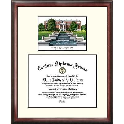 Image of Campus Images MD998V University of Maryland Scholar Diploma Frame, 13' x 17' Document Frames