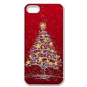 Merry Christmas Tree Hard Case Cover for iPhone 5/5s Kimberly Kurzendoerfer