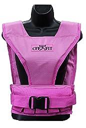 CFF Women\'s Pink Weight Vest - 22 Pound