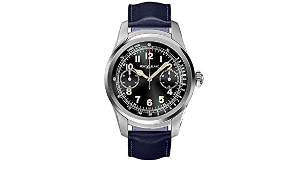 Amazon.com: Montblanc Summit Smartwatch - Steel Case with ...