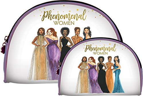 African American Expressions - Phenomenal Women Cosmetic Bags (Set of two) COS-18