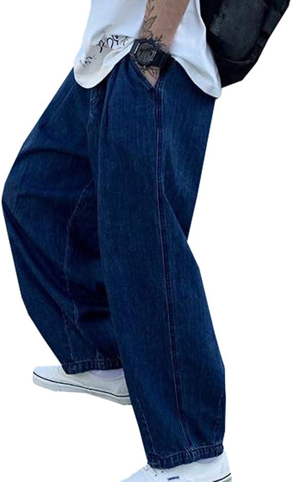 [YUNHEN]ワイドパンツ メンズ デニム ストレートパンツ カジュアル 大きいサイズ ジーンズ デニムパンツ 韓国ファッション オシャレ ボトムス