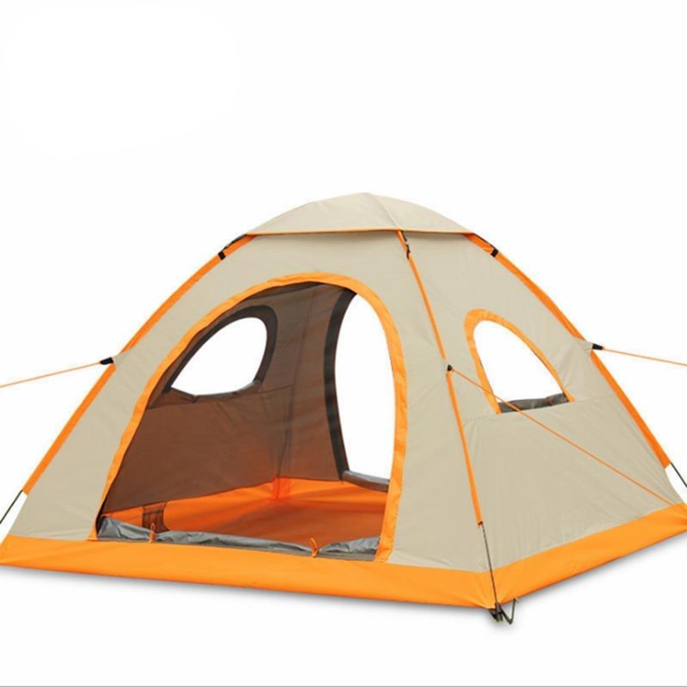 ZWGYQ 3–4 Personen Zelt Automatische Camping Regendicht Zelt Outdoor Markise mit Familie Garten Tragetasche/Camping/Angeln/Beach Time
