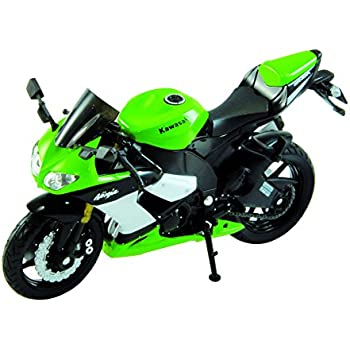 Amazon.com: NewRay 1:12 2011 Kawasaki Zx-14: Toys & Games