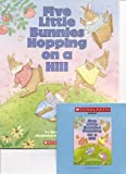 Five Little Bunnies Hopping on a Hill Book and Audio CD Set (Paperback Book and Audio CD)