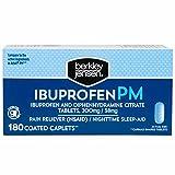Berkley Jensen Ibuprofen PM Caplets, 180 ct. (pack of 6)